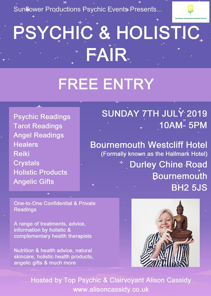 Pay Deposit - Psychic & Holistic Fair Stall Holder | 7th July 2019